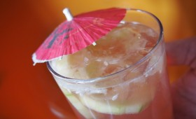 Cucumber Melon Gin Cooler