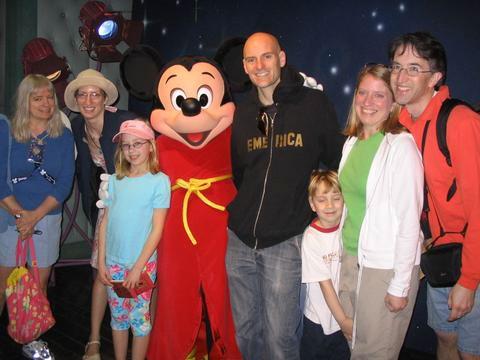 Mickey group hug