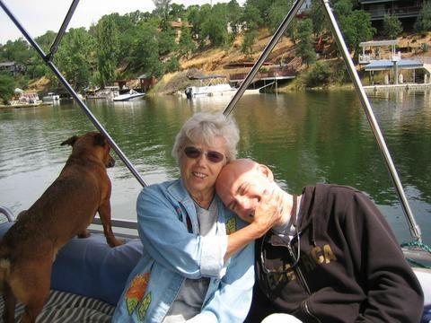 Grandma and me, May 2006