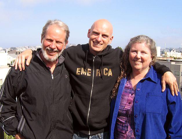 William, Patrick, and Joanne Santana, May 2006