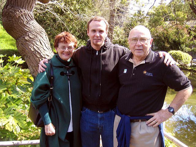 Karen, Darryl, and Henry Dunn, May 2006