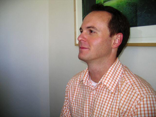 Darryl Dunn, at his 31st birthday