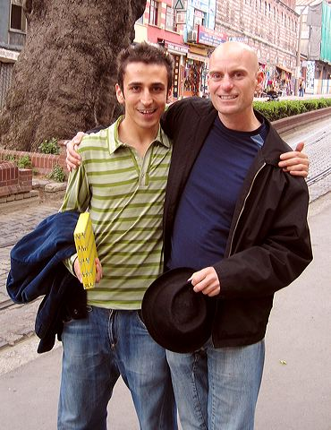 Onur Ozdemir and me, Istanbul 2005