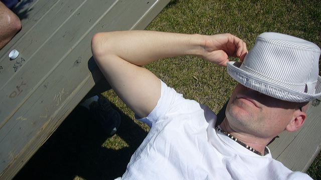 Patrick Santana makes some Montreal shade, 2006