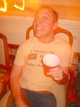 Aaron deHart, birthday boy, 2004