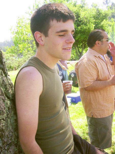 Seth at Lake Temescal, 2004
