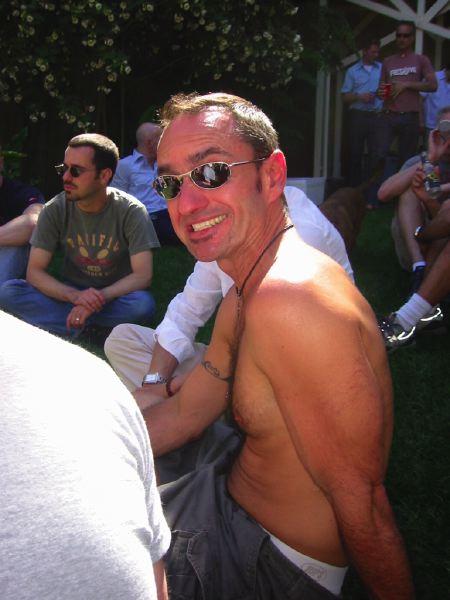 Ed Judd, birthday 2004