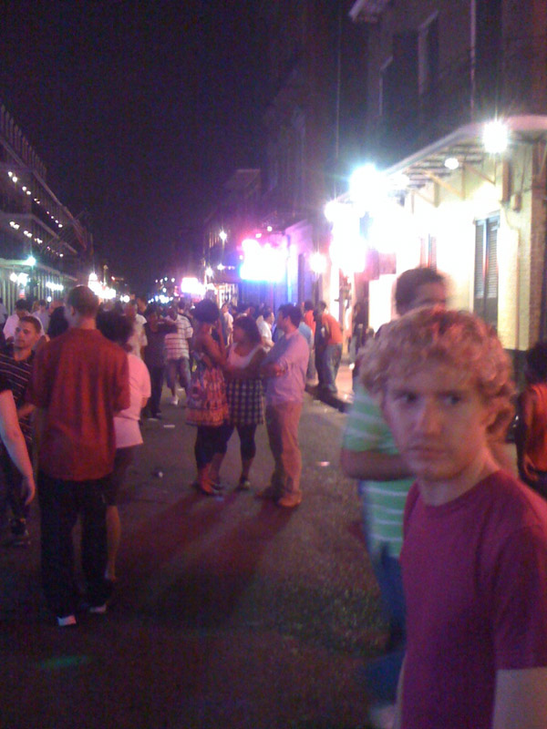 Justin taking me out in the Quarter