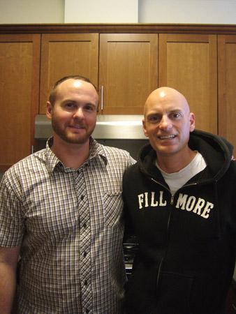 Darryl Dunn and Patrick Santana, 380A Noe Street housewarming