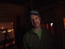 Jon in the not quite black night