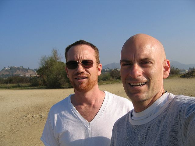 Jon Barrett and I take a morning walk in Griffith Park