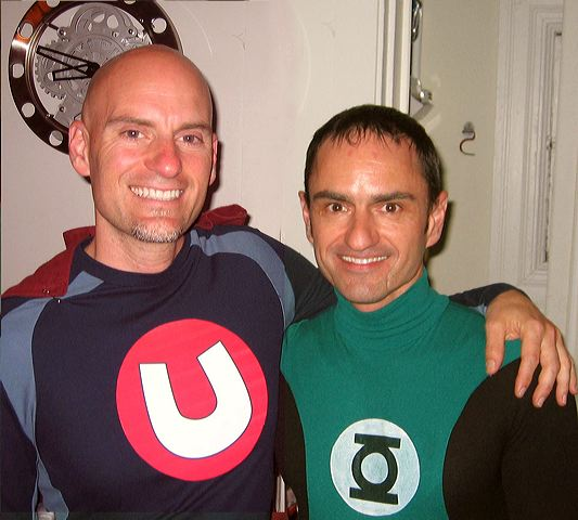 Underdog and the Green Lantern