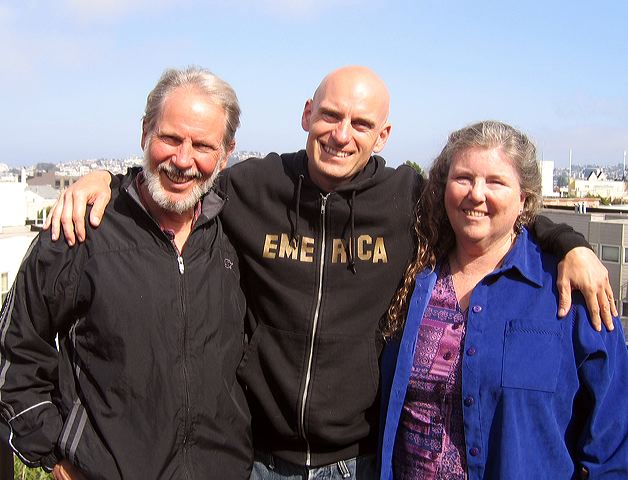 William, Patrick, and Joanne Santana, May 2006