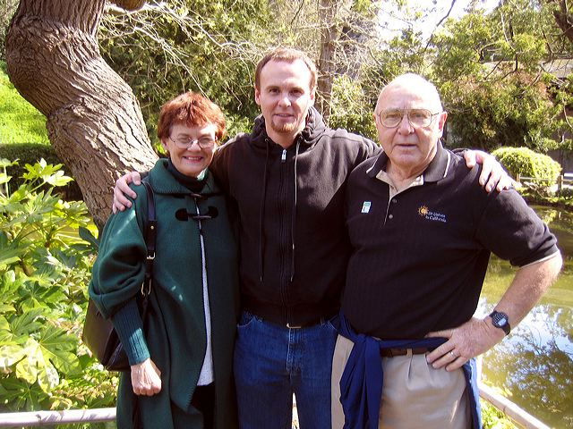 Karen, Darryl, and Henry Dunn, May 2006
