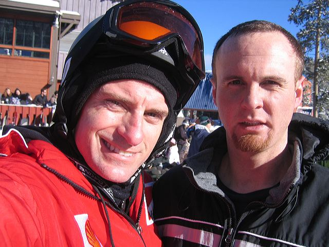 Me and Darryl at Northstar