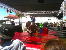 Mechanical bull, Sonoma County Fair 2011