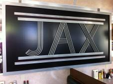 Jax Diner sign, Truckee, CA