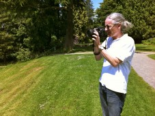 Brian Miller snaps a pic for his Seattle Weekly article