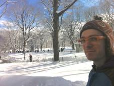 Matthew Sachs in Central Park